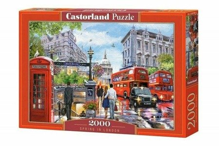 Castorland 200788 Spring in London 2000 Teile Puzzle