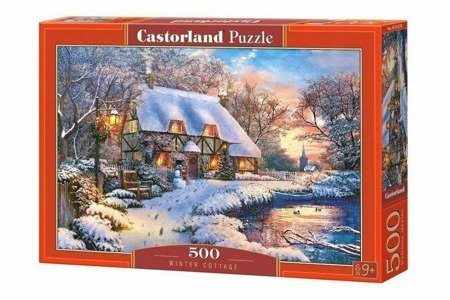 Castorland B-53278  Winter Cottage Puzzle 500 Teile