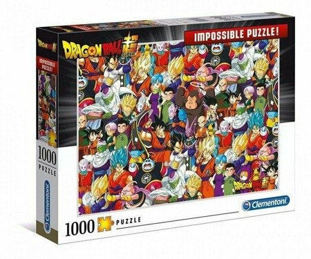 Clementoni 39489 Impossible Dragon Ball 1000 Teile Puzzle