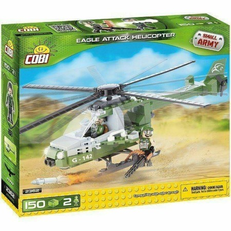 Cobi 2362 Small Army Eagle Attack Helicopter NEU OVP
