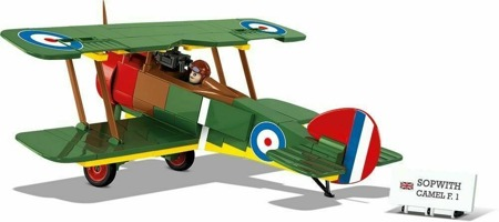 Cobi 2975 Historical Colleciton Sopwith F.1 Camel rb