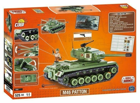 Cobi 3008 Small Army World Of Tanks M46 Patton NEU OVP