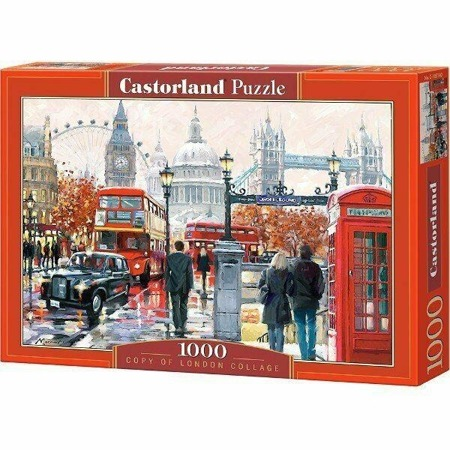 Puzzle Castorland 1000 Teile LONDON COLLAGE