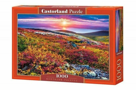 Puzzle Castorland 1000 Teile NORTHERN PALETTE