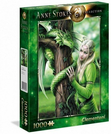 Puzzle Clementoni 1000 Teile - Anne Stokes Verwandte Seelen