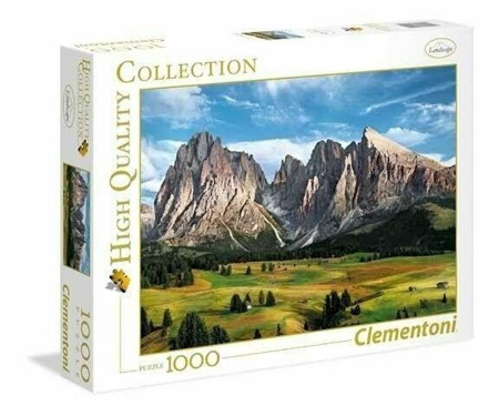 Puzzle Clementoni 1000 Teile -  The Coronation Of The Alps