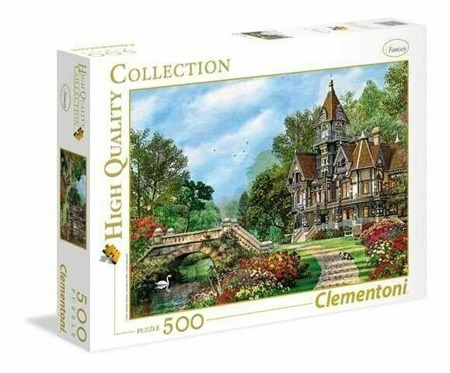 Puzzle Clementoni 500 Teile Old Waterway Cottage