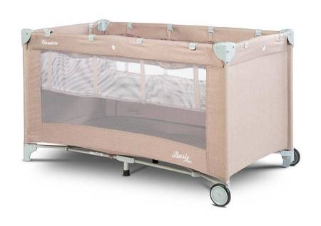 Reisebett Caretero Basic Plus beige